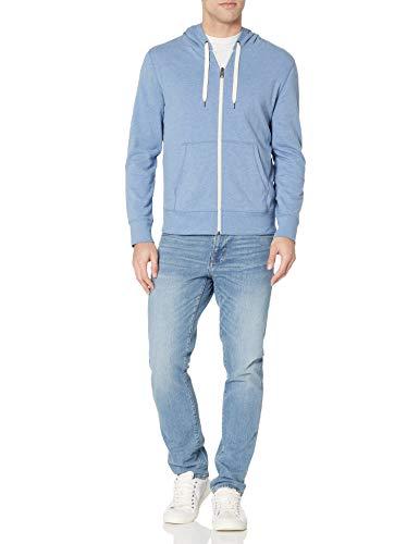 319+x0M2LyL - Amazon Essentials Men's Lightweight French Terry Full-Zip Hooded Sweatshirt
