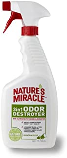 Nature's Miracle 3-in-1 Odor Destroyer, Mountain Fresh Scent, 24-Ounce