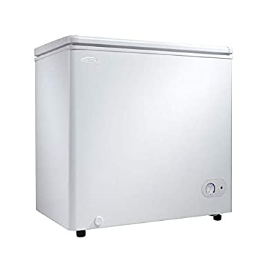 Danby 5.5 Cubic Feet Chest Freezer with Energy Efficient Foam Insulated Cabinet and Lid