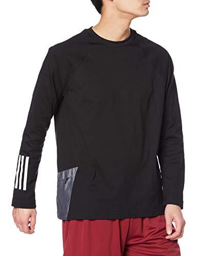 [アディダス] 長袖 Tシャツ バッジ オブ スポーツ 長袖Tシャツ メンズ ブラック(GN0775) 日本サイズS相当 adidas(アディダス) adidas JKL40