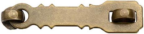 Wooden Door Brass Buckle Furniture Buckle Cabinet Lock Antique Drawer Bolt Garden Security Door product image