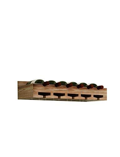 ZTBXQ Accueil Ustensiles de Cuisine Gadgets Casier à vin Mural et Porte-Verre Vintage Bois Massif Pin Casier à vin Maison et Cuisine Bar Accessoires de décoration Multi-Couleur
