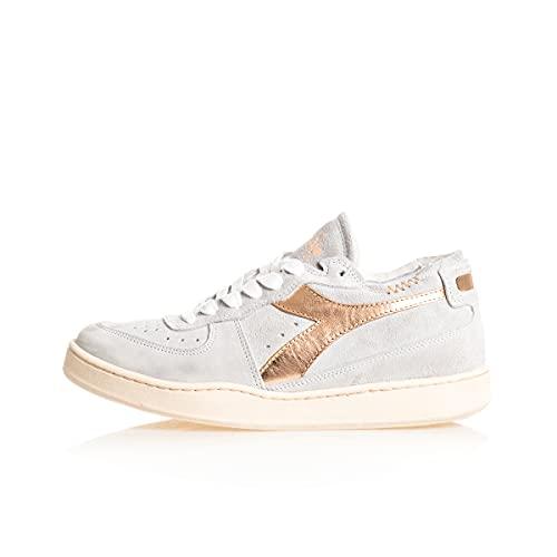 Sneakers Donna Diadora Mi Basket Row Cut Amber Suede Rosa 201.177993.50038