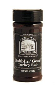 Historic Lynchburg Tennessee Whiskey Gobblin Good Turkey Rub 5 Oz. Jar