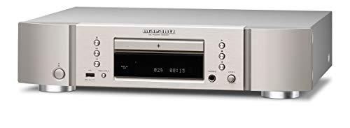 Marantz CD6007 HiFi CD Player, CD Spieler, CD- und CD-R/RW-Wiedergabe, USB, Kopfhörer-Verstärker, Silber-Gold