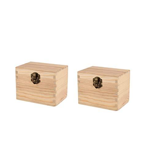 SUPVOX boîte à huile essentielle en bois support de bouteille d'huile boîte de vernis à ongles aroma accessoires conteneur pour fournitures de magasin à domicile 2 pcs 6 emplacements