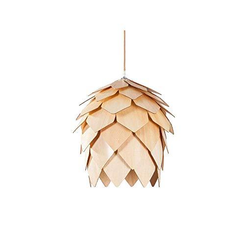 AWCVB China Forma De Nueces Chandelier Rattan Lampana Colgante Luz De Mimbre Bambú Lámpara De Tejido De La Mano DIY