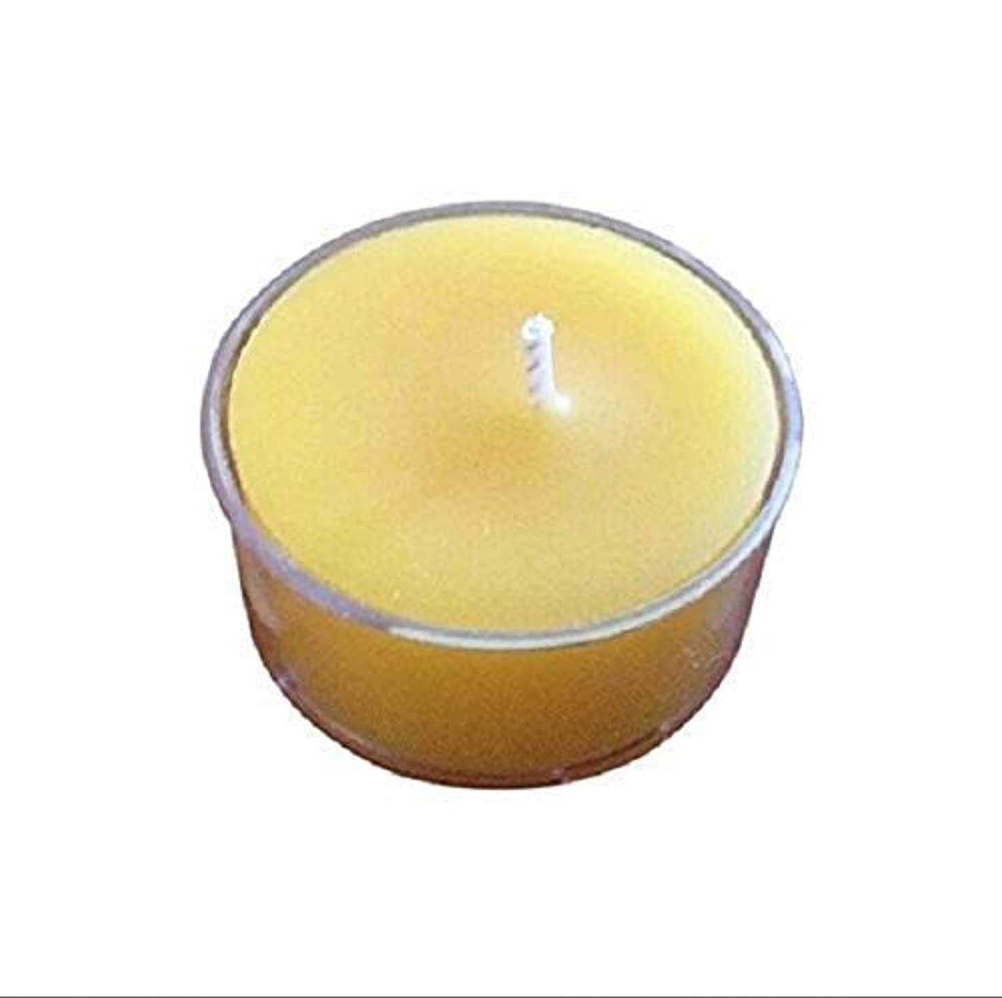 Raw Pure Organic Beeswax Tealight Candle 100 Pack