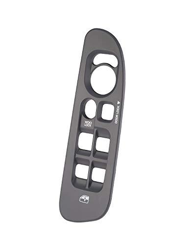 Window Switch Bezel for Dodge Ram Door Switch Panel Bezel, Gray