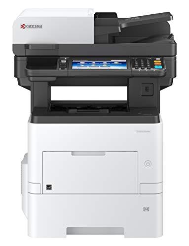 Kyocera Klimaschutz-System Ecosys M3860idn/KL3 4-in-1 Multifunktionsdrucker. 3 Jahre Kyocera Life vor Ort Service. Schwarz-Weiß, Duplex-Einheit, 60 Seiten pro Minute mit Mobile-Print-Funktion