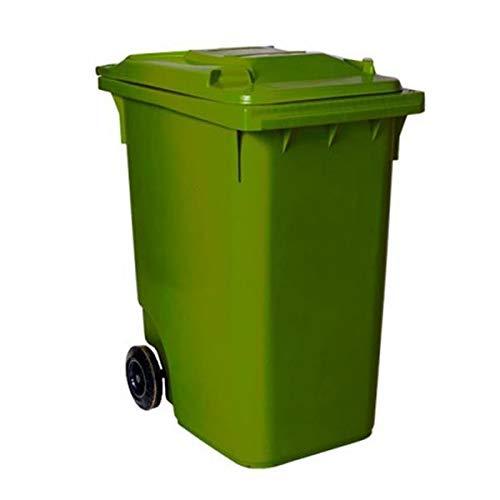 SSI Contenedor de Basura 360 litros Color Verde
