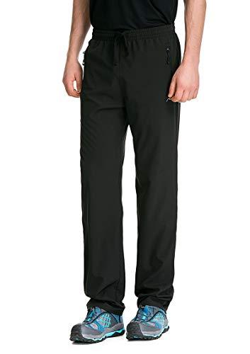 Trailside Supply Co.Mens Insulated Ski Pants Fleece-Lined Waterproof Snow Pants