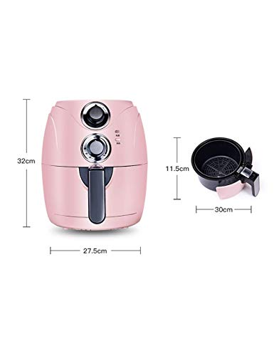 FOUWE 2.5L Air Fryer Fries,One-click Operation,Oil-Free & Low-Fat Healthy Cooking,200 ℃ High Temperature Degreasing,Detachable Fried Basket,for Healthy Oil Free Or Low Fat Cooking 1200W
