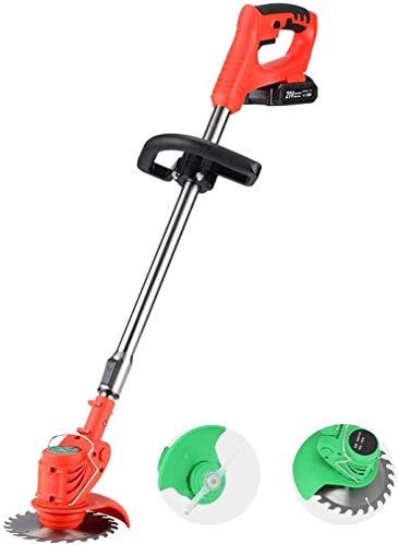 Trimmer de cuerda sin cable y borde de ruedas, cortador de cepillo...