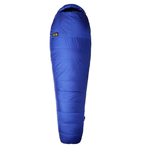 Mountain Hardwear Rook 30F/-1C Long Blau, Daunen Schlafsack, Größe 234 cm - RV Links - Farbe Clematis Blue