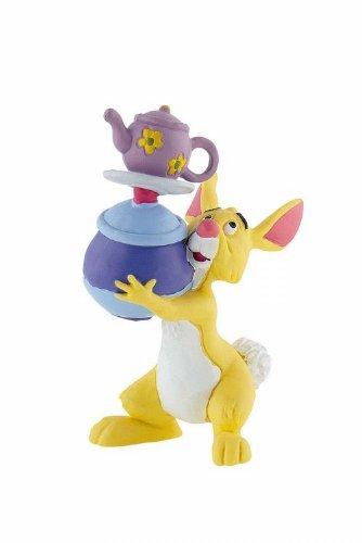 Bullyland 12322 - Spielfigur, Walt Disney Winnie Puuh, Rabbit, ca. 7,3 cm