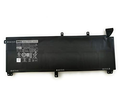 Dell Original 6 cellules 61 WHR Battery for Precision M3800 H76MY T0TRM