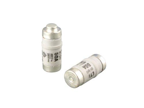 REV 0515052555 Neozed, Sicherung D02/E18 50A, 10Stück, 250VDC / 400VAC , grau