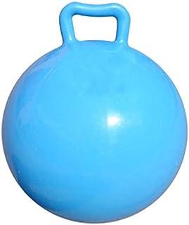 POPETPOP Kabarık Topu Ile Kolları Çocuklar Zıplatma Top Şişme Hazne Top Atlama Çocuklar Top Atlama Hazne Top ( Mavi )