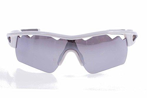 Crivit® Sportbrille Sport Brille mit 100% UV Schutz Plus Etui Kordel Putztuch Weiß (glänzend 2)