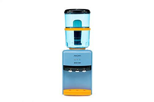 Eco-3190 Completo – Aqua Tower + Filter Tower – Dispensador de Agua fría, cálida y Natural – Incluye Torre con purificador – 7 Fases de filtrado