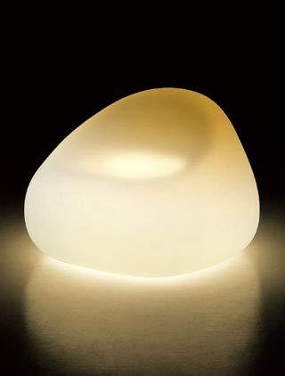 イタリア製デザイナーズファニチャー ガムボール・アームチェア ライト付き 電球色 (高さ65cm) ユーロ3 プラストコレクション EP-6246L Plust Collection Gumball Armchair Light オブジェ チェア
