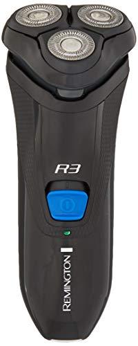 Remington PR1335B R3000 Series Men's Electric Razor with Precision Plus Heads, Stubble Attachment Included, Black