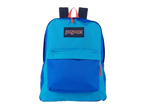 JanSport Superbreak Backpack (Blue Block)