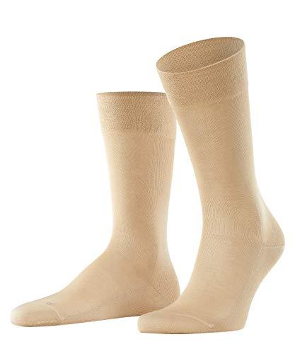 FALKE Herren Sensitive Malaga M SO Socken, Blickdicht, Beige (Sand 4320), 39-42