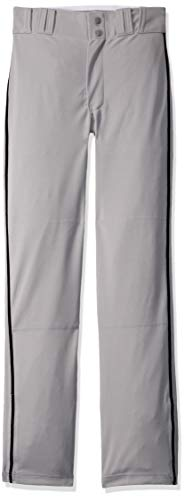CHAMPRO Boys Youth Triple Crown Open Bottom Pant with Pipe