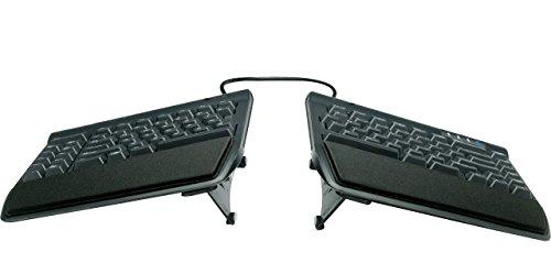 Kinesis Freestyle2 Ergonomic Keyboard w/ VIP3 Lifters for PC (9' Separation) (Renewed)
