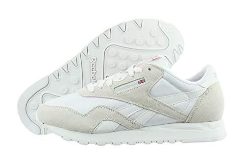 Reebok Damen Classic Nylon W Sneaker weiß 6.5