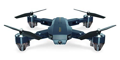 GEHOO GH FQ777 FQ35 30W 200W Hélicoptère RC RTF WiFi FPV Grand Angle Caméra HD Tenue Haute Sans tête Pliable Drone Quadcopter (30W Caméra)