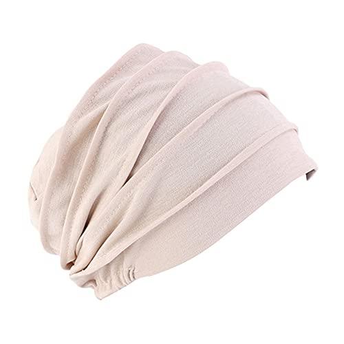 ikasus Chemo - Gorro para mujer, pañuelo suave, turbante, algodón, bandana, quemo, cáncer, hijab, bonnet