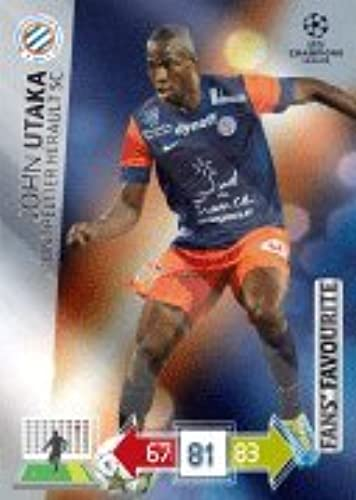 Champions League Adrenalyn XL 2012 2013 John Utaka 12 13 Fans Favourite [Toy]