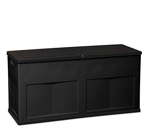 TOOMAX Baule Multibox Trend Line, 320L, 119x46x60h cm, Art. 160, Nero