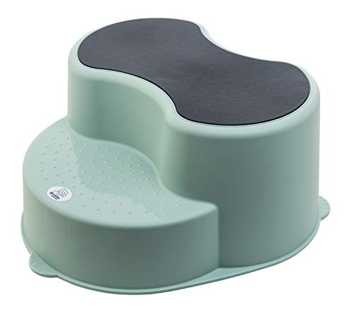 Rotho Babydesign TOP Tabouret Enfant, Surface Antidérapante, TOP, Swedish Green (Vert Menthe), 200050266