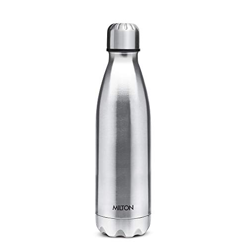 Milton Shine 1000 Stainless Steel Water Bottle, 900 ml, Silver