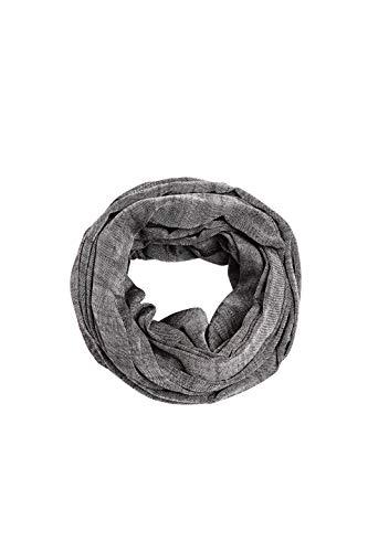 ESPRIT Accessoires Damen 990EA1Q301 Mode-Schal, 001/BLACK, Einheitsgröße