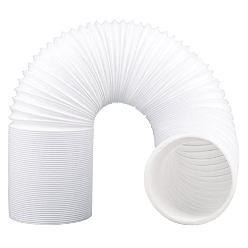 piaopiao AD-15cm Diameter Flexible Air Conditioner Exhaust Pipe Duct Vent Outlet Pipe Portable Air Conditioner Outlet Conditioner (Color : White)