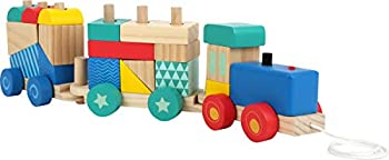 Small Foot Wooden Toys 33 piece Wooden Train
