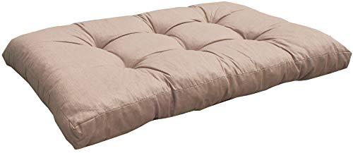 Kissen für Lounge Palettenmöbel 120 x 80 cm Sand