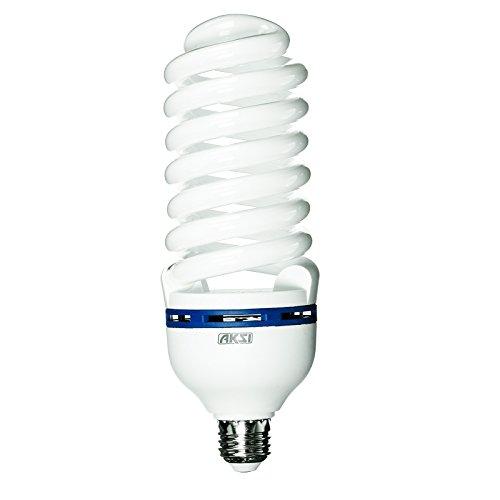 Aksi Focos Plus Ahorradores, Luz Blanca, 65W, Ilumina 250W, Pack 2