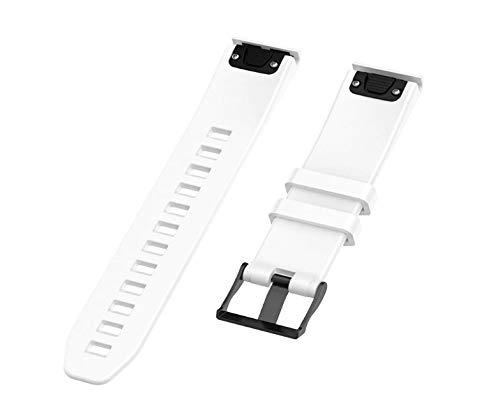 Pulseira de Silicone Branca Adulto Para Relógio Smartwatch Garmin Forerunner 935