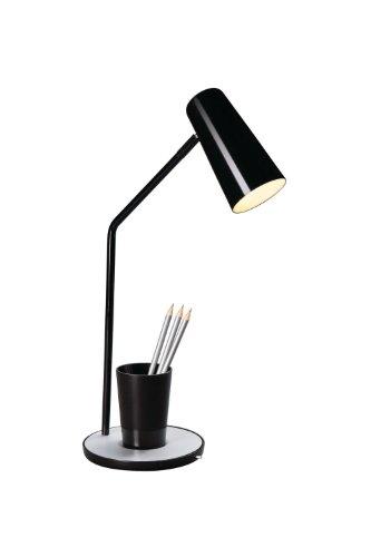 Massive 666253010 Jason Lampe de Table Noir 1 x 12 W