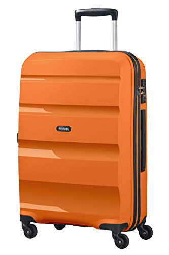 American Tourister Bon Air Spinner M Koffer, 66 cm, 57.5 L, Orange (Tangerine Orange)