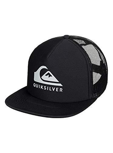 Quiksilver Foamslayer - Gorra Trucker para Hombre Cap, Hombre, Black, 1SZ