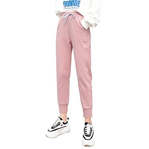 Pantalones Deportivos Casuales para Mujer Pantalones Sueltos De Color Sólido Adecuado para El Hogar, Viajes Al Aire Libre, Pantalones Deportivos Y De Fitness