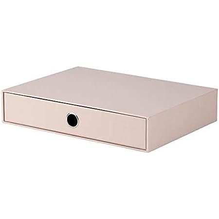 Rössler S.O.H.O. 1524452580 Boîte de rangement pour tiroir Format A4 avec trou de préhension Poudre