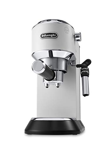DeLonghi EC 685.W, Macchina per Caffè Espresso Manuale, 1350 W, 2 Cups, Metal, Bianco